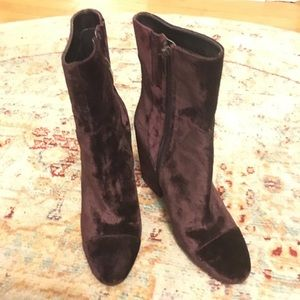 Kendall + Kylie Velour Boots